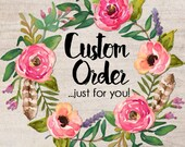 Custom Listing for Janie