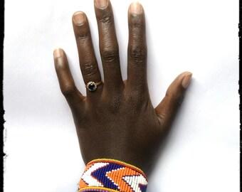 Beaded African Bracelet, Maasai Bracelet