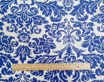 Queen Street floral damask Fabric by the Yard-Jennifer Paganelli for Free Spirit