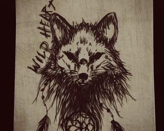 Wild Heart Print