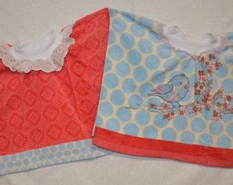 Baby/Toddler Tea Towel Bibs, Baby Bibs, Toddler Bibs