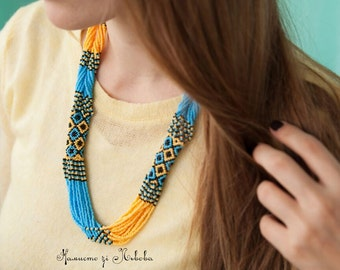 Ukrainian Beaded Necklace