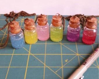 Stress Jars Pendants -- The Legend of Zelda Potion Bottles