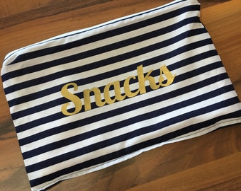 Personalized Medium Snack Bag
