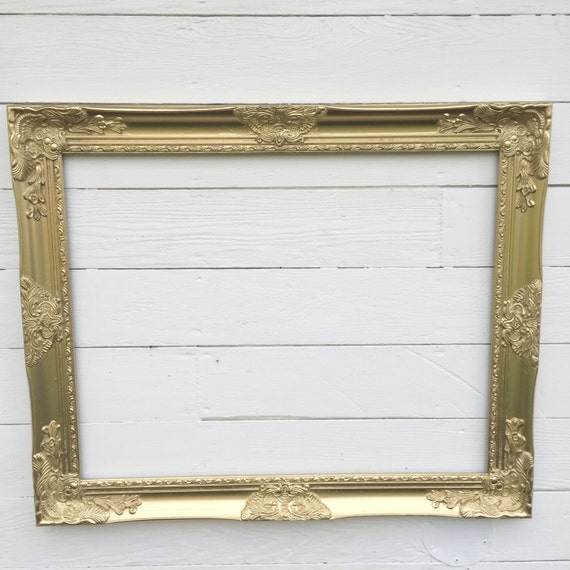 Gold Wall Frame Baroque Wedding Photo Prop Gallery Wall Frame
