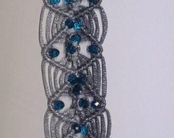 Bracelet, accessories, decoration, macramé.
