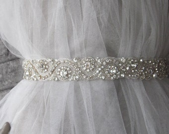 Rhinestones belt sash, wedding sash,wedding accessories, bridal belt
