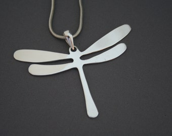 Om Dragonfly Pendant