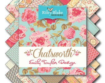 Chatsworth Fat Quarter Bundle from Riley Blake
