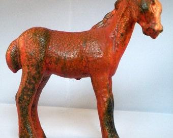 Ceramic Foal by Ruscha