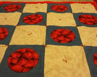 Baby Basketball Quilt