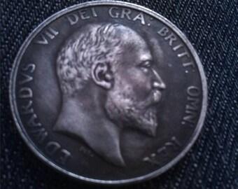 King Edward VII Shilling 1903 Restrike Coin