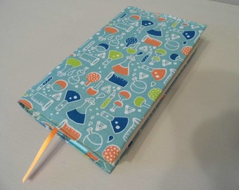 My Little Lab Handmade Fabric Book Cover