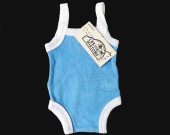 70's Terry Cloth Baby Body New Old Stock 3-6 Months