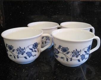 Arcopal France Coffee Cups-Blue Onion - Item #1178
