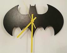 Handmade Batman Clock
