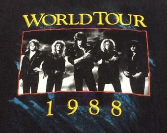 1988 KINGDOM COME TOUR Vintage Heavy Metal Concert Shirt