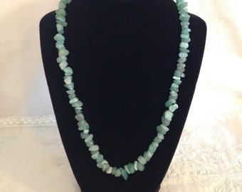 GREEN ROCKY MEADOW necklace #34