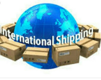 International shipping listing for Australia
