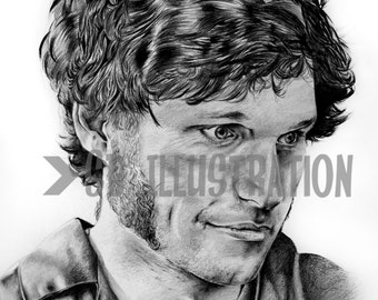 Guy Martin Drawing Limited Edition Prints Signed by Artist