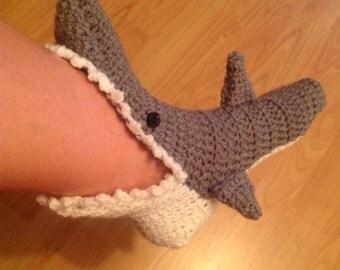 Novità favolosa a mano Unisex Shark calzini a maglia
