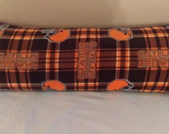 Cleveland Browns Body Pillow Cover