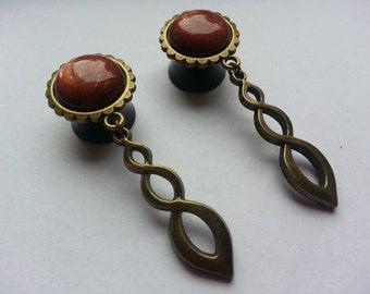 Romantic of plugs 'Endless Loop' bronze