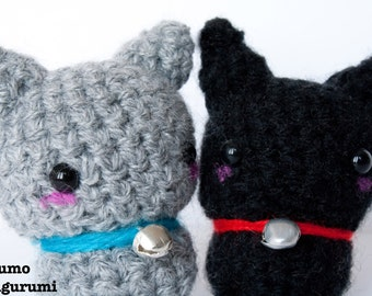 Amigurumi Kawaii Plush Keychain-Cat-Cat-Crochet-Crochet-Soft