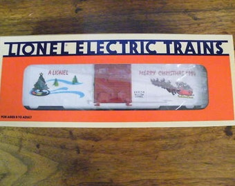 lionel Toy Trains Christmas Boxcar Holiday Collectible