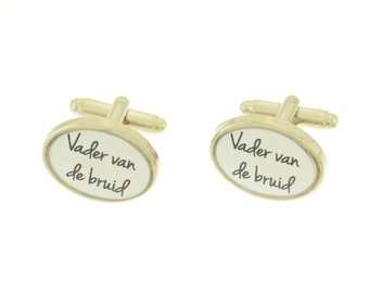 Cufflinks wedding for father of the bride