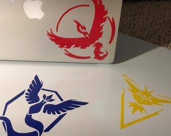 Pokemon Go Team Decal; you pick team