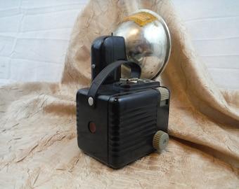 1950's Brownie Hawkeye Camera Flash Model - Vintage, Retro, Decorum