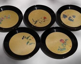 Hakuichi Gold Leaf Plates
