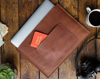 Leather Macbook Sleeve