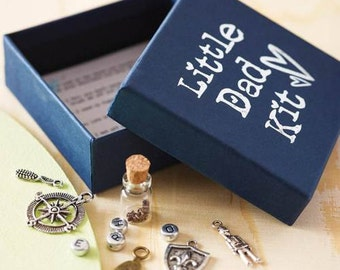 Personalised Little Dad Kit | Father's Day Gift | Father's Day | Charm Box | Keepsake