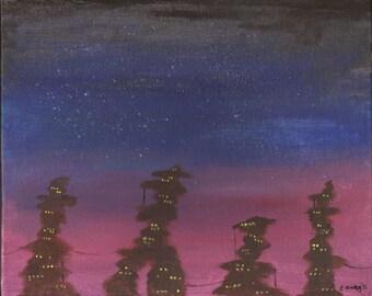 Original painting The Spires