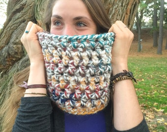 Hudson Bay Crochet Wool Cowl