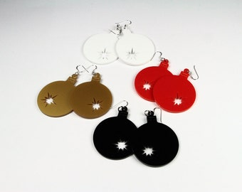 Acrylic Earrings Balocco