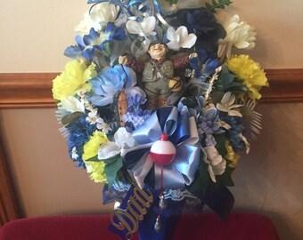 Dad Birthday Cemetery Flower