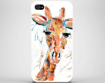 Iphone 7/6/5/4, Samsung S4/S5/S6/S7, phone case, case, giraffe phone case, strong case, giraffe