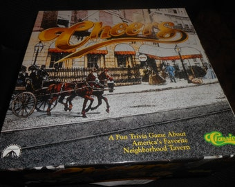 CHEERS BOARD GAME 1992 Trivia