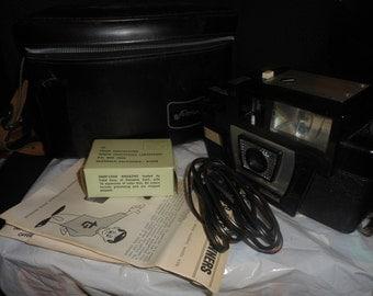 Vintage Fotron III Camera PLUS Strap Leather Bundle