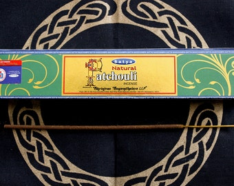 Incense patchouli with holder