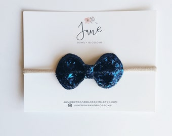 the BLING bow || NAVY