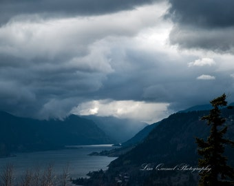 Columbia River Gorge Storm