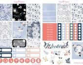 Foxy Weekly Planner Sticker Kit for Erin Condren, Happy Planner, Filofax, Kikki K etc