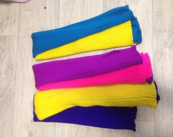 Leg warmers for dance and pole dance