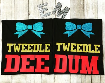 Tweedle Dee Tweedle Dum shirts