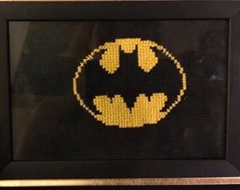 Batman Cross Stitch