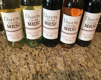 Wine Bottle Wedding Gift Idea : shower bottle labels. Wine bottle labels. Bridal shower gift idea ...